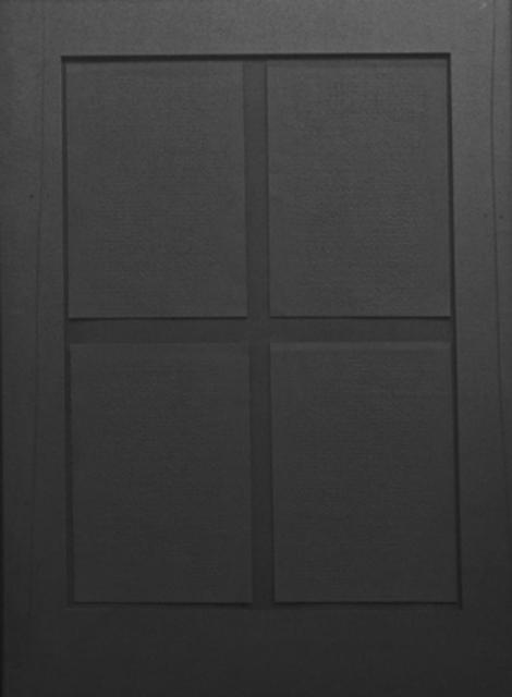 , 'Felt with Fingertips II (Black),' 2007, The Noble Sage Collection