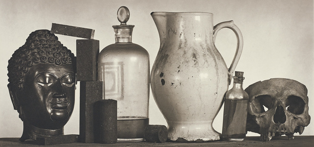 Irving Penn, 'Still Life with Skull, Pitcher and Medicine Bottle, New York', 1981, Phillips