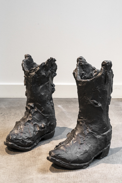 , 'Empty Boots,' 2018, Hans Alf Gallery