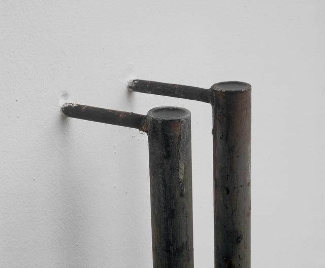 , '2x (ø 3,5 x 167 x 12), detail,' 1991, Galerie Isabella Czarnowska