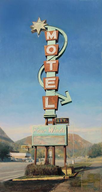 , 'Four Winds Motel,' 2018, Sue Greenwood Fine Art