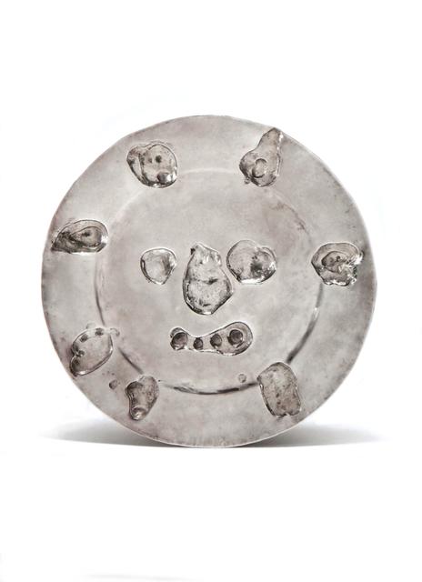 """Pablo Picasso, 'Silver Plate """"Le visage aux taches"""" ', 1957, Art 1900"""