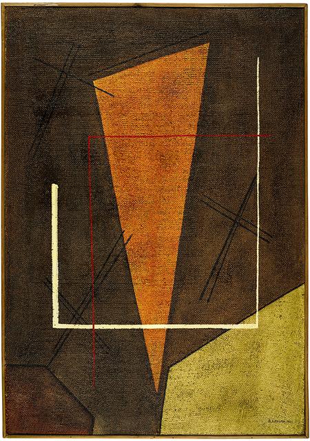 , 'Senza Titolo,' 1952, Richard Saltoun