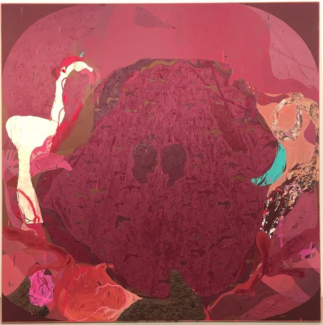 , 'Square painting 9,' 2017, Galerie Kornfeld