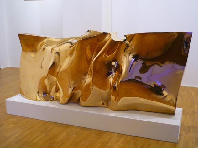 Giò Pomodoro, 'Folla', 1964, Sculpture, Gold coated brss, Galleria Fumagalli