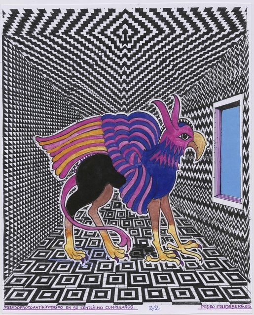 , 'Pseudoprotoantihipogrifo en su centésimo cumpleaños,' 2015, MAIA Contemporary