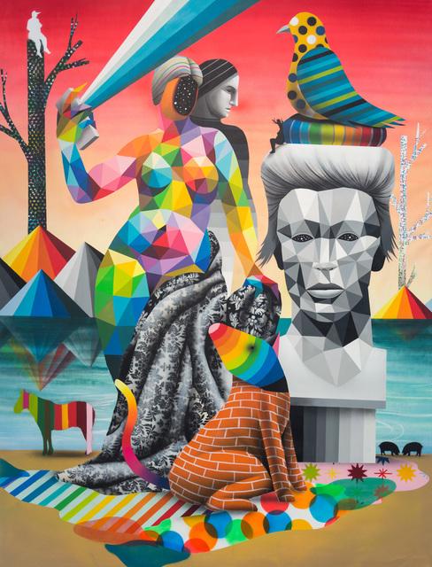 Okuda San Miguel, 'SMS from Bowie Venus', 2016, Underdogs Gallery