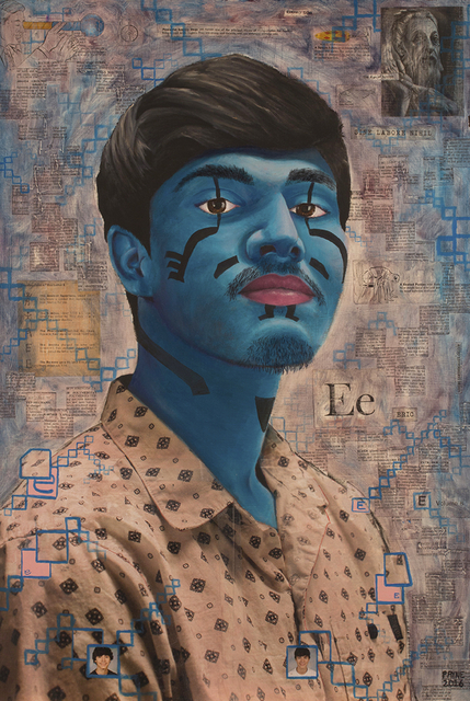 , 'Caeruleum Vir,' 2016, The Painting Center