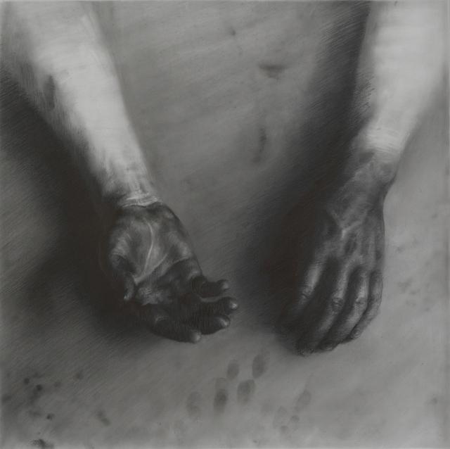 , 'Dye Job I,' 2017, Booth Gallery