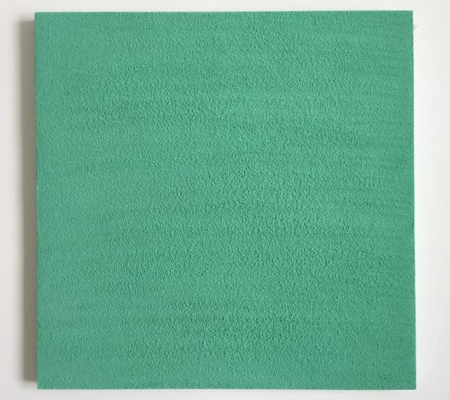, 'The Fourth, Green/Aquamarine Heart CHAKRA,' 2017, ABXY