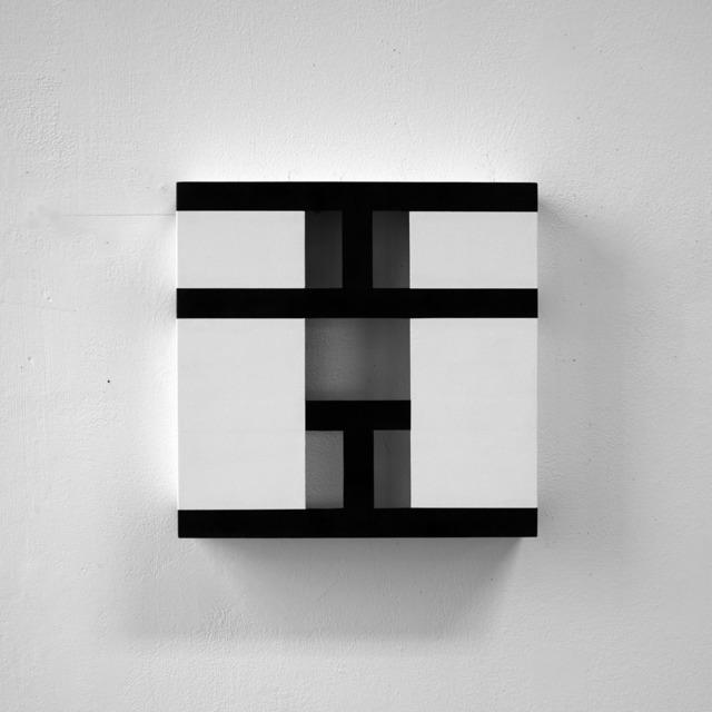 , 'UTW4 black lines,' 2008, Sebastian Fath Contemporary