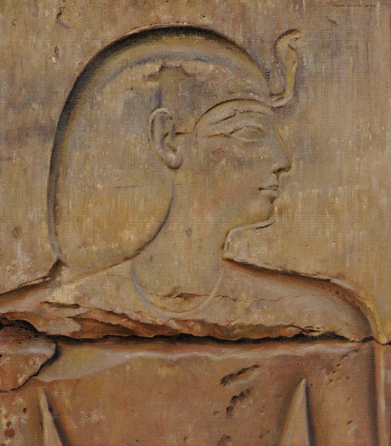 Joseph Lindon Smith, 'Painted Copy of an Egyptian Relief: A Prince', Skinner