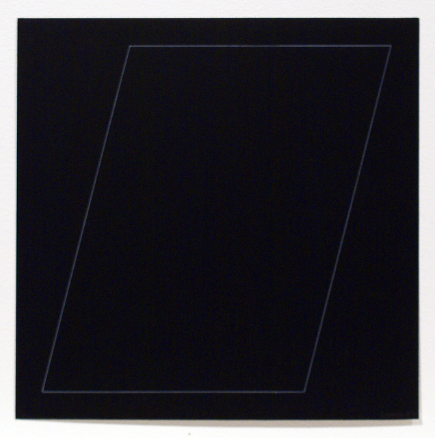 , 'Six Geometric Figures - Parallelogram,' 1977, Bernard Jacobson Gallery