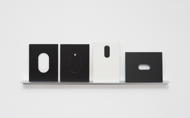 , 'Arquibabas (preta e branca, oval),' 2015, Galería Vermelho