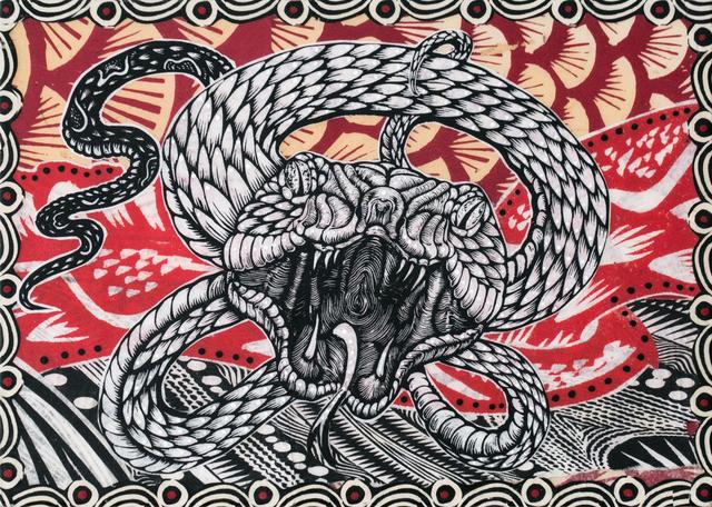 , 'Midgard Sperpent,' 2018, Paradigm Gallery + Studio