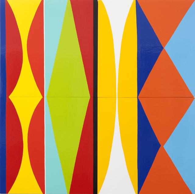, 'Four Panel Rabbit,' 2010, Rosamund Felsen Gallery