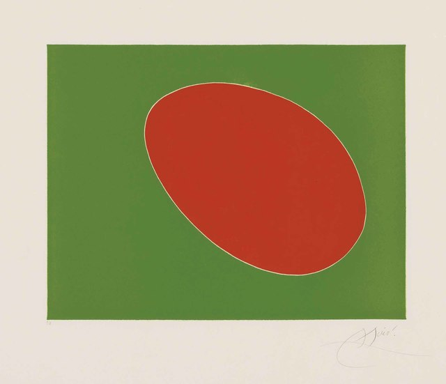Joan Miró, 'Plate 6 from: Càntic del Sol', 1975, Christie's