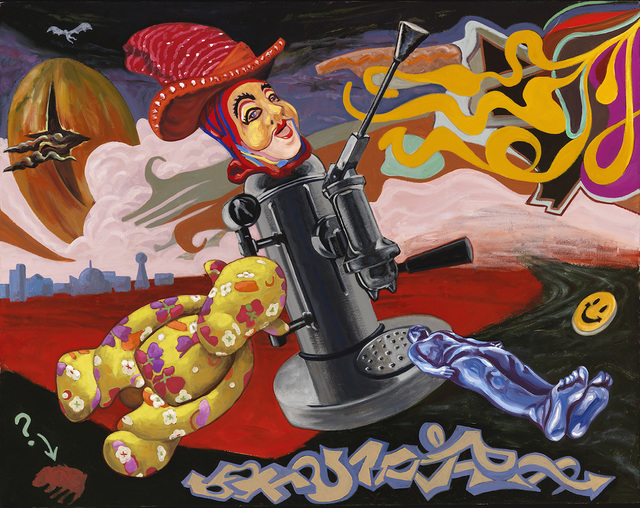 Hank Feeley, 'Bless the Children', 2014, Painting, Oil on Canvas, First Street Gallery