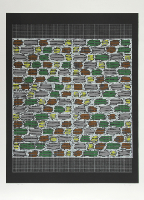 Anni Albers, 'Connections 1925 - 1983 - Study for Hooked Rug, 1964', 1984, RoGallery