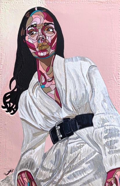REWA, 'Somadina at 24', 2019, Painting, Acrylic and ink on canvas, Jonathan Ferrara Gallery