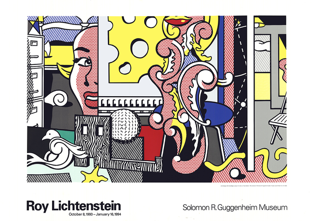 Roy Lichtenstein, 'Go for Baroque', 1993, Ephemera or Merchandise, Serigraph, ArtWise