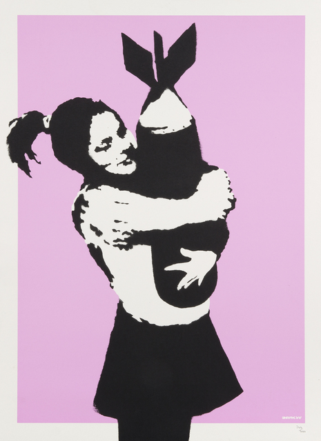 Banksy, 'Bomb Love', 2004, Julien's Auctions