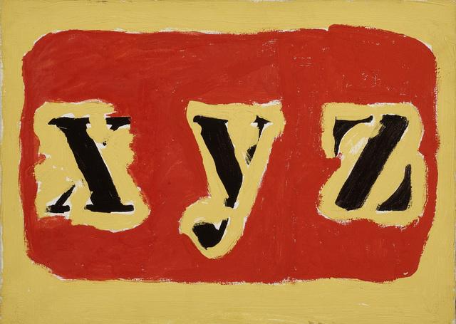 , 'XYZ,' 1974, The Mayor Gallery