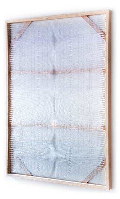 , 'Woven Screen (White Gradient),' 2018, Uprise Art