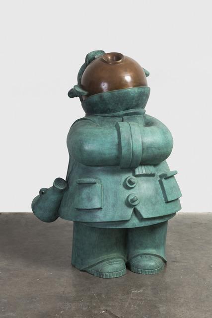Jiang Shuo, ' Co Guard - Girl 协管女孩', 2018, Linda Gallery