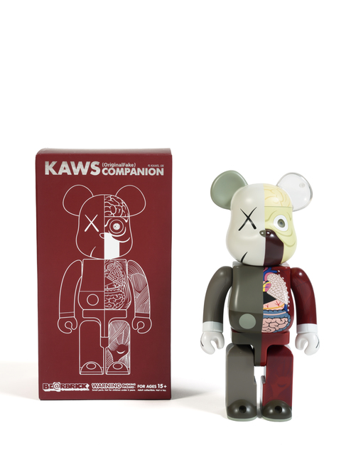 KAWS, 'Dissected Companion Bearbrick 400% (Brown)', 2008, Digard Auction