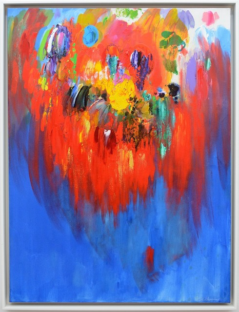 , 'Firebird Red,' 2014, Oeno Gallery