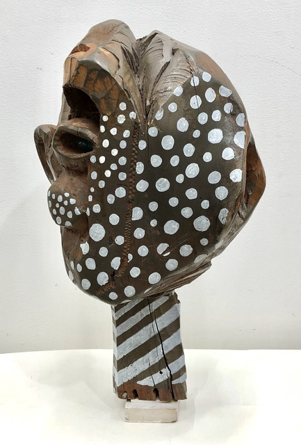 , 'Polka dot Face with Glass Eye,' 2002, Freight + Volume