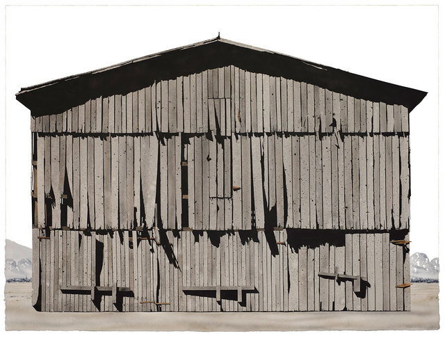 , 'Williamson County Tobacco Barn ,' 2017, David Lusk Gallery