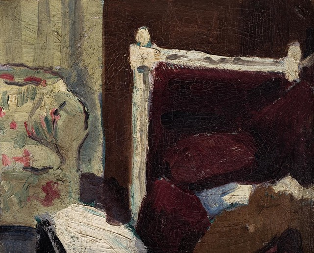 , 'Bedroom Interior,' 1926, Osborne Samuel