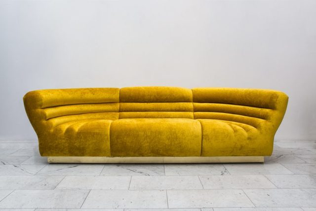 , 'Channel Tufted Sofa,' 2017, Todd Merrill Studio