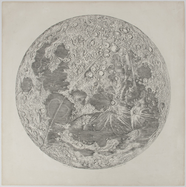 , 'Carte de la Lune,' 1787, Gagosian