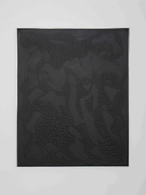, 'Black #2,' 2016, Rolando Anselmi