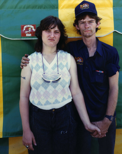 , 'Newlyweds at Carnival, Owego, NY,' 1987, Laurence Miller Gallery