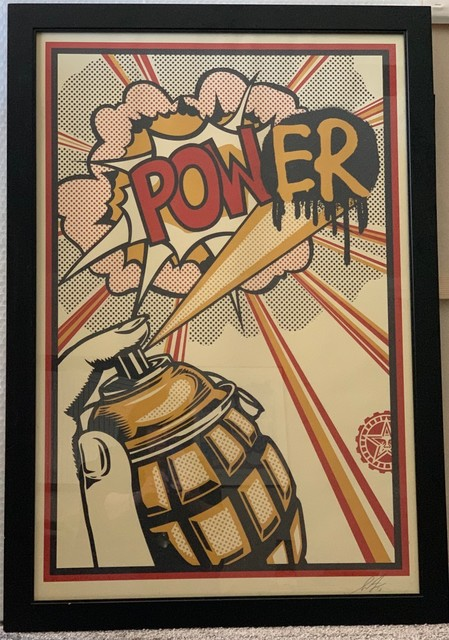 Shepard Fairey, 'Imperial Glory & POWer (2 pieces)', 2013, Print, Lithograph, Leviton Fine Art