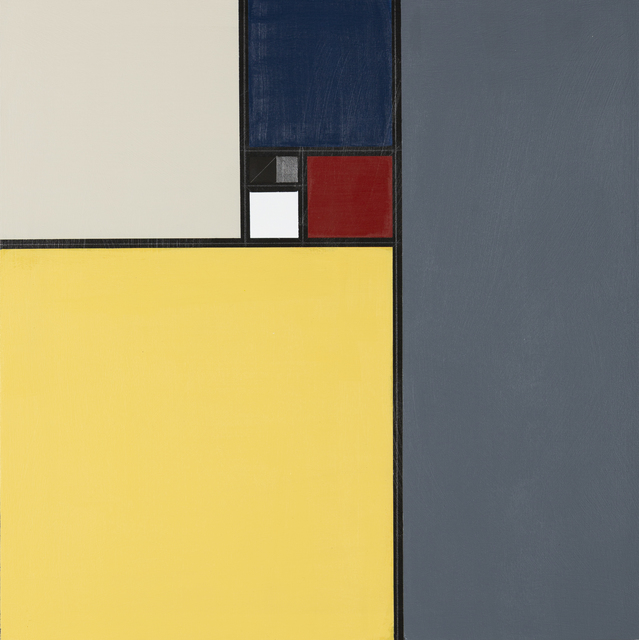 , 'Divine Square,' 2018, The George Gallery
