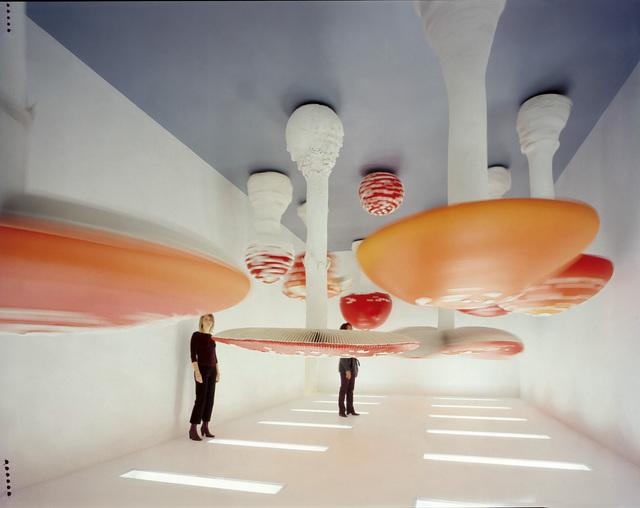 , 'Upside-Down Mushroom Room,' 2000, Fondazione Prada