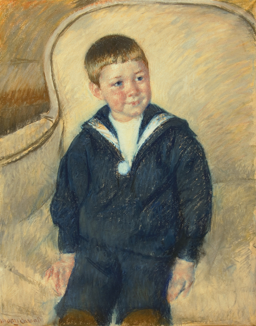 , 'Portrait of Master St. Pierre as a Young Boy,' 1906, Guarisco Gallery