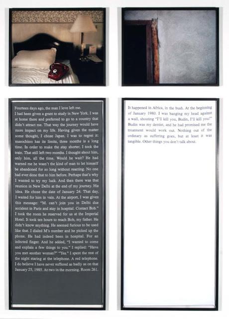 , 'Exquisite Pain, 14 days ago,' 1984/2003, Perrotin