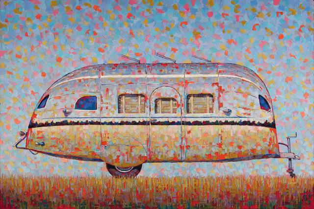 , 'Airstream,' 2018, George Billis Gallery