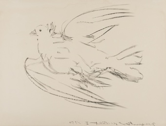 Pablo Picasso, 'La Colombe volant (Bloch 677; Mourlot 191) ,' 1950, Forum Auctions: Editions and Works on Paper (March 2017)