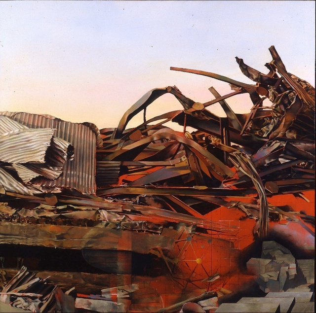 , 'RUINS AT DAPHNE REVISITED,' 1993, Gallery NAGA