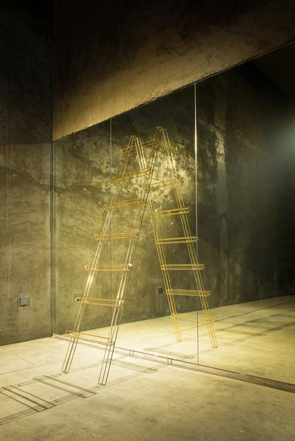 , 'where 梯子,' 2015, Qi Mu Space