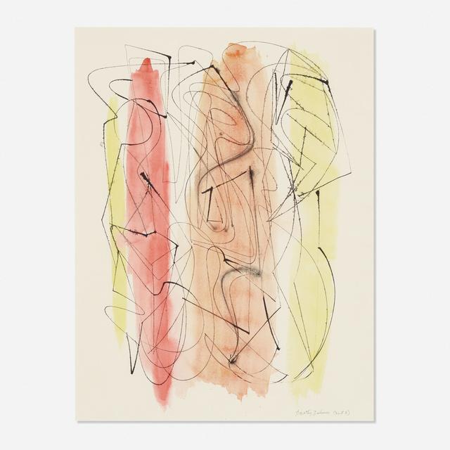 Dorothy Dehner, 'Untitled (Three Figures)', c. 1953, Rago/Wright