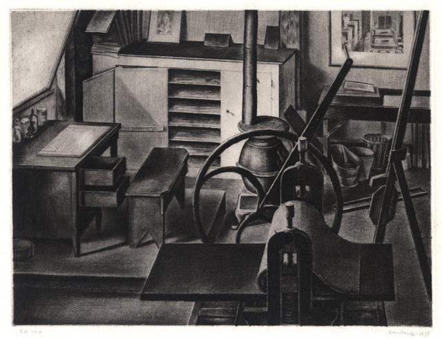 , 'Studio Interior Nº 1,' 1935, Conrad R. Graeber Fine Art