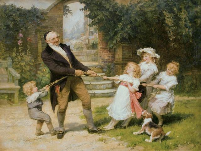 Frederick Morgan, 'Tug-of-War', ca. 1890, Guarisco Gallery